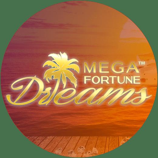 Logo Mega Fortune Dreams